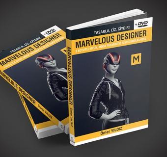 Marvelous Designer Kitabı Baskıda