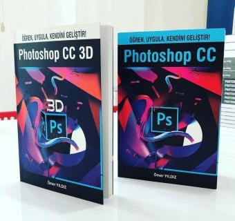Photoshop CC ve CC 3D Kitaplarım Çıktı!